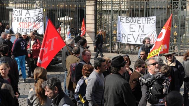 Eboueurs en grève (Photo d'illustration)