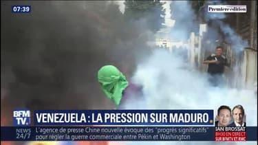 Au Venezuela, la pression monte contre Nicolas Maduro après un week-end de tensions