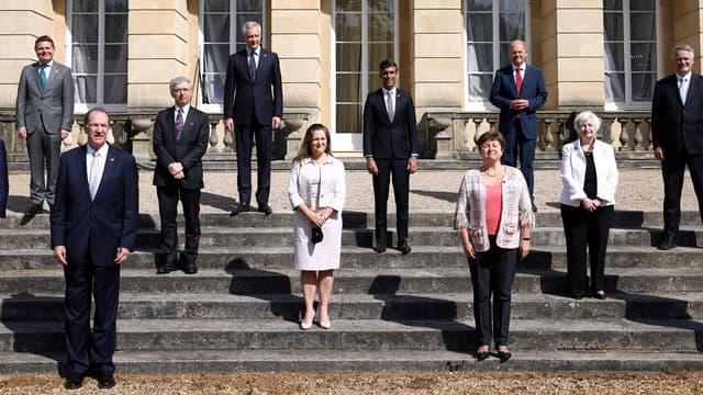 Les participants au G7 Finances réunis à Londres, samedi 5 juin 2021