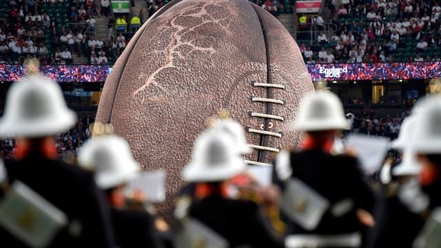 Cérémonie d'ouverture de la Coupe du monde de rugby 2015 à Twickenham - AFP