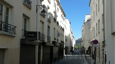 """La rue de Vertbois dans le IIIème arrondissement alias """"La Jeune Rue"""" devrait accueillir 10 commerces éphémères pour faire oublier le flop de l'ambitieux projet précédent"""