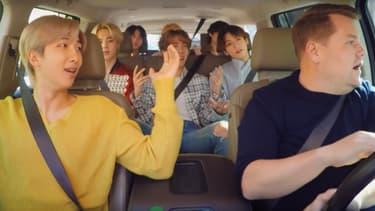 "BTS dans ""Carpool Karaoke"""