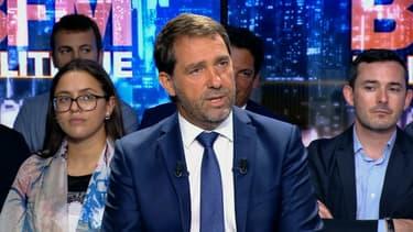 Christophe Castaner sur BFMTV dimanche 27 août