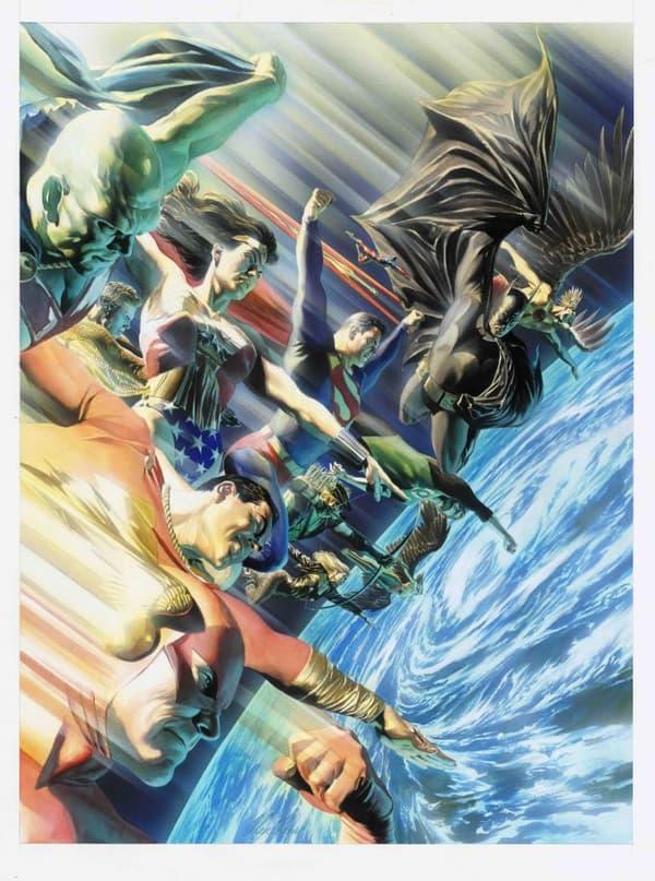 JLA Protectors of the Universe par Alex Ross