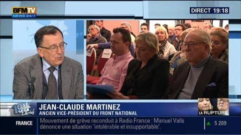 Jean-Claude Martinez face à Ruth Elkrief