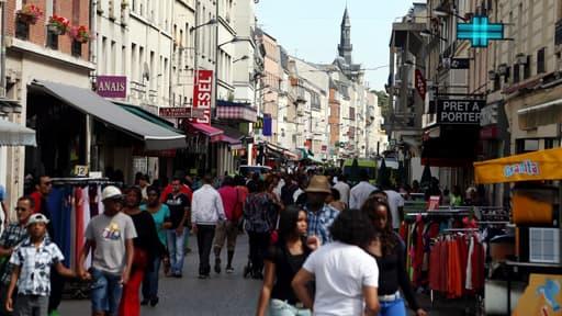 La ville de Saint-Denis.