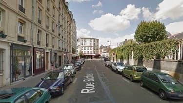 Vue de la rue Bichat. (illustration)