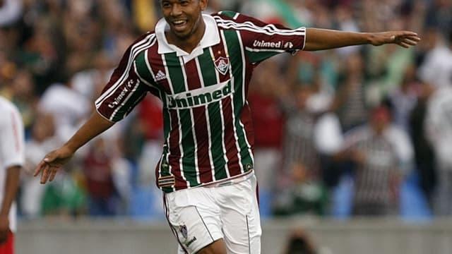 Mariano avec le maillot de Fluminense