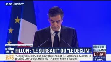 """Sur les vétérans, Fillon tacle Macron qui avait évoqué """"un crime contre l'humanité"""""""
