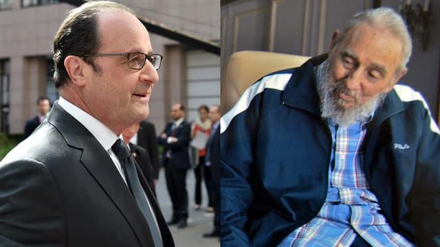 François Hollande et Fidel Castro se rencontreront-ils le 11 mai prochain, à Cuba?