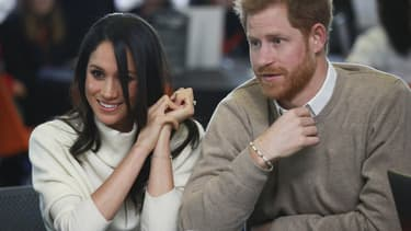 Meghan Markle et le Prince Harry le 8 mars 2018