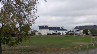Le stade de football Alexandre Lemoine à Saint Nazaire.
