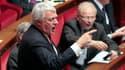 Le député UMP Claude Goasguen à l'Assemblée nationale mardi, lors des questions au gouvernement.