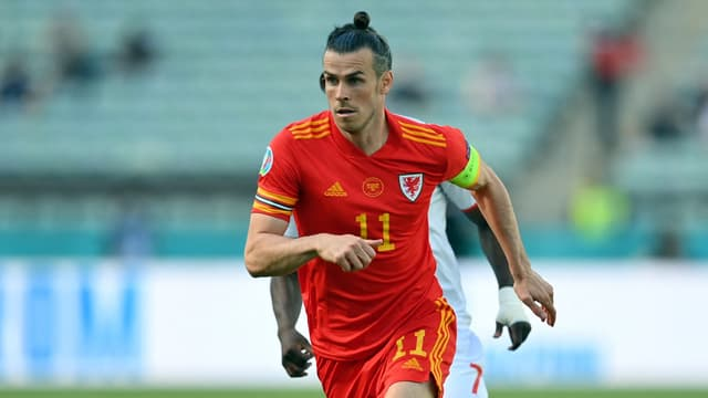 Gareth Bale lors de Galles-Suisse