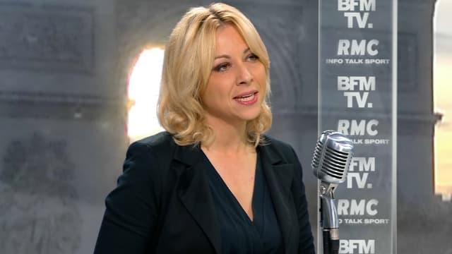Florence Portelli jeudi sur BFMTV et RMC.