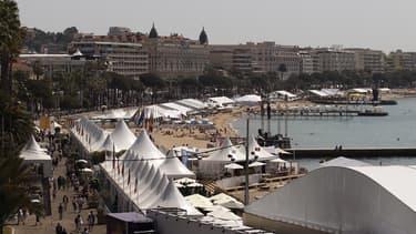 La Croisette, à Cannes.