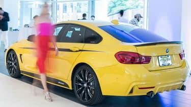 Audi, BMW ou Mercedes sont dans le colimateur de Donald Trump, qui veut relever les droits de douane sur l'importation des modèles fabriqués en Europe et en Allemagne.
