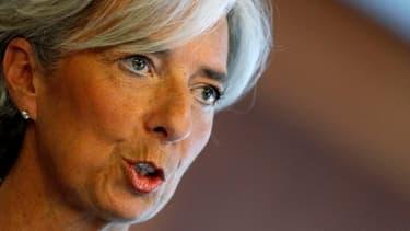 Christine Lagarde était invitée à l'Elysée ce vendredi 8 novembre.