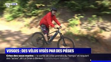 Planche de clous, fil barbelé sur des sentiers...: des VTTistes visés par des pièges dans les Vosges
