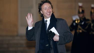 Stéphane Bern à l'Elysée en 2014.