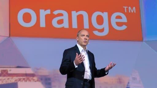 Stéphane Richard, le patron d'Orange, veut diversifier les activités de l'opérateur.