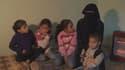 Fatima et ses enfants ont fui Palmyre.