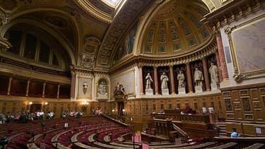 L'hémicycle du Sénat, au Palais du Luxembourg.