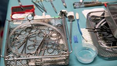 Des instruments de chirurgie (Photo d'illustration)