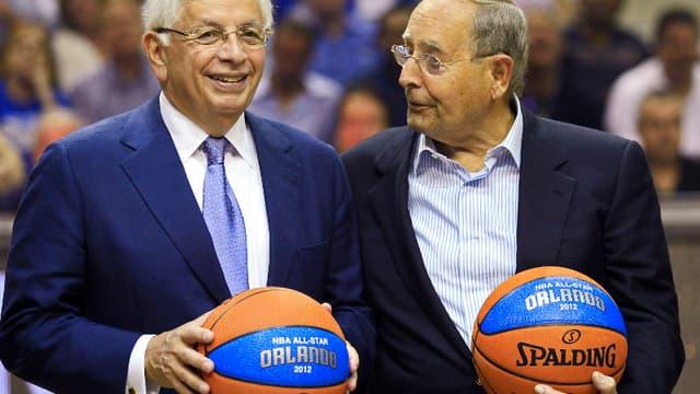 David Stern, le grand patron de la NBA