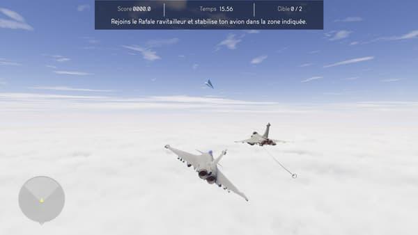 L' application permet de ressentir les effets conjugués des forces que subit un avion pendant son vol
