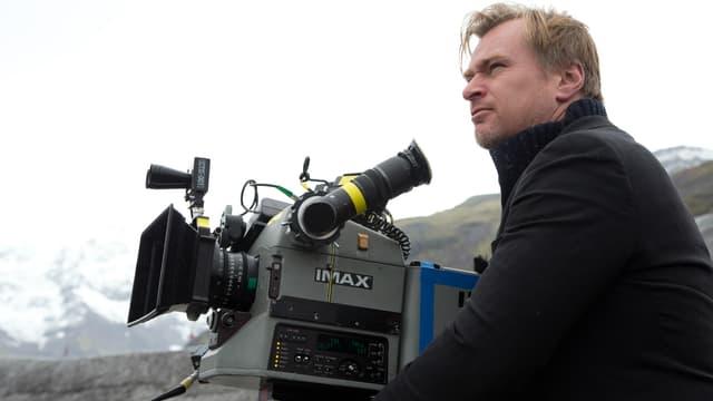 "Christopher Nolan sur le tournage d'""Interstellar"""