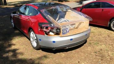 Réparer sa Model S, c'est possible.