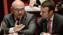 Michel Sapin et Emmanuel Macron ont fait un pas vers le gouvernement grec, tout en posant leurs conditions.