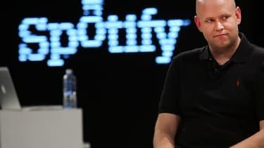 Le Suédois Daniel Ek, fondateur et PDG de Spotify.