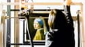 La Jeune Fille à la perle, de Vermeer, en 2018, au musée  Het Mauritshuis de La Haye.