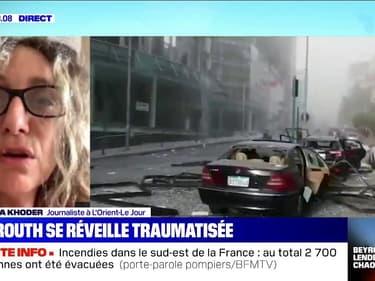 La journaliste Patricia Khoder témoigne d'un réveil encore sous le choc à Beyrouth