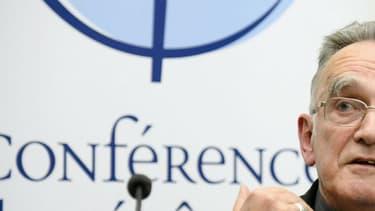 Le président de la Conférence des évêques et et archevêque de Marseille, Monseigneur Georges Pontier.