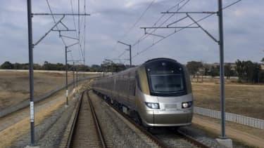 Image d'illustration d'un train à grande vitesse le 24 juin 2011 -