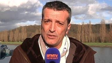 Edouard Martin en duplex sur BFMTV le 17 février.