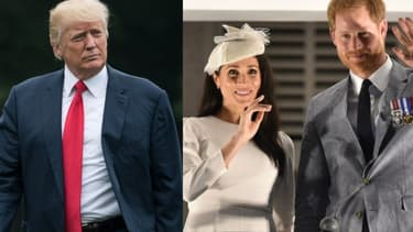 Donald Trump, Meghan et Harry