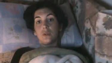La journaliste française Edith Bouvier, blessée au cours d'un bombardement à Homs la semaine dernière. L'incertitude régnait mardi sur le sort de cette journaliste, des opposants syriens ayant affirmé mardi qu'elle avait été évacuée vers le Liban mais le