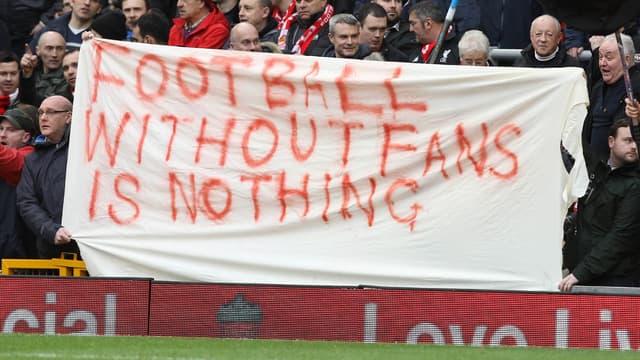 La grève des supporters de Liverpool