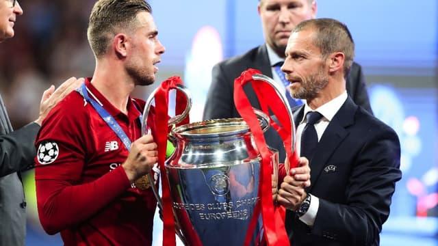 Ceferin et Liverpool