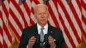 Joe Biden ce lundi soir depuis Washington.