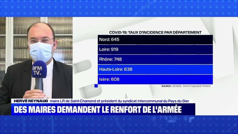 Le maire de Saint-Chamond dans la Loire demande le renfort de l'armée pour soutenir le milieu hospitalier