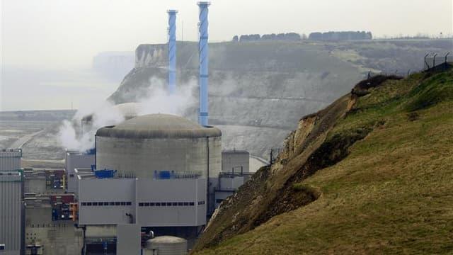 La centrale nucléaire de Penly, en Seine-Maritime.