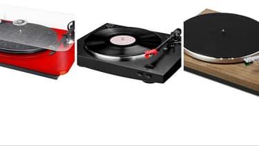 Platines vinyles.