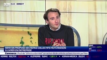 La  pépite: Ripayon propose des repas collectifs faits maison à livrer en entreprise - 27/11