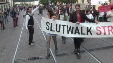 "La ""marche des salopes"", ""slut walk"" à Strasbourg, samedi 28 septembre."