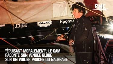 """""""Épuisant moralement"""", Le Cam raconte son Vendée Globe sur un voilier proche du naufrage"""